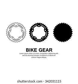 BIKE GEAR VECTOR