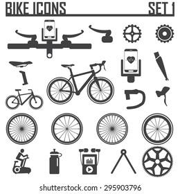 bike icon vector illustration.