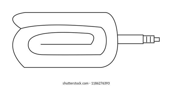 bike inner tube folding