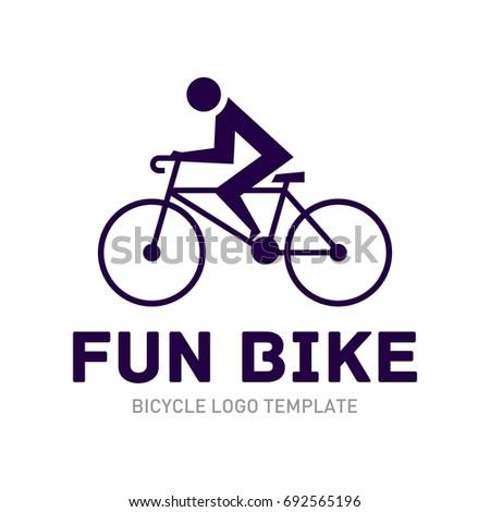 bike logo template stock vector royalty free 692565196 shutterstock