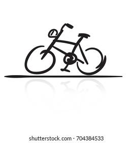 bike logo vector