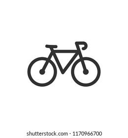 bike. monochrome icon