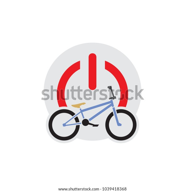 Bike Power Logo Icon Design
