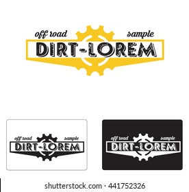 Bike shop logo. Vector Logo Template