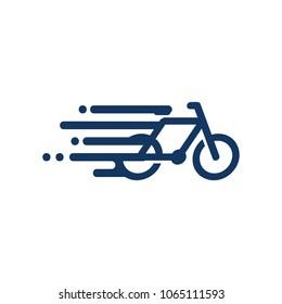 Bike Speed Logo Icon Design