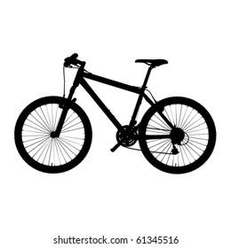 bike in vector