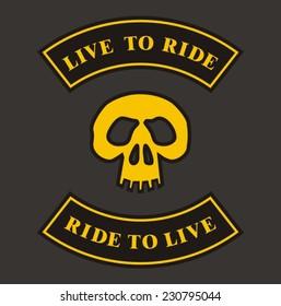 Biker patch