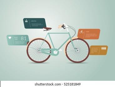 Biking Infographics