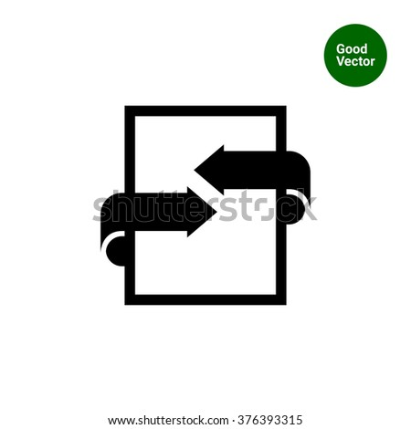 Bilateral Agreement Stock Vector Royalty Free 376393315 Shutterstock
