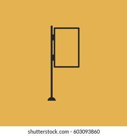 bilboard icon vector