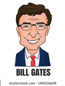 Bill Gates The world's richest billionaire Microsoft business owner.
