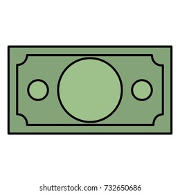 bill money isolated icon