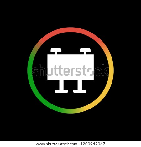 Billboard App Icon Stock Vector (Royalty Free) 1200942067 - Shutterstock