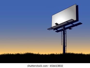 Billboard at Dawn