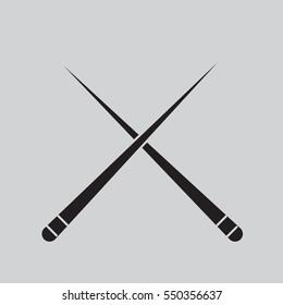 billiards cue icon