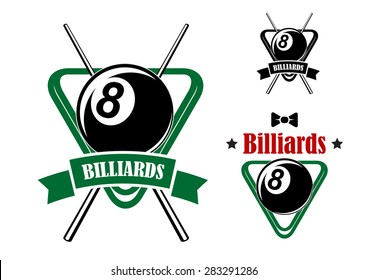 Billiard Logo Images, Stock Photos & Vectors | Shutterstock