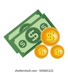 bills dollars money icon