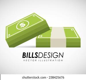 bills money