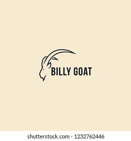Billy Goat technology logo design inspiration