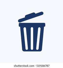Bin icon design,clean vector