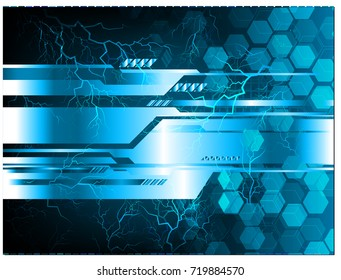 binary circuit future technology, blue cyber security concept background, abstract hi speed digital internet.motion move blur. pixel vector bolt, thunderbolt, shaft