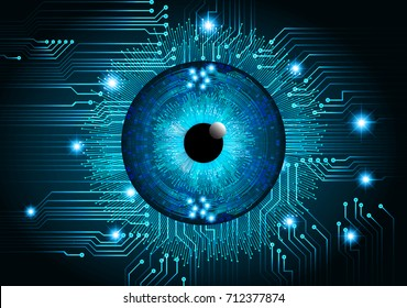 binary circuit future technology,blue cyber security concept background, abstract hi speed digital internet.motion move blur. pixel vector