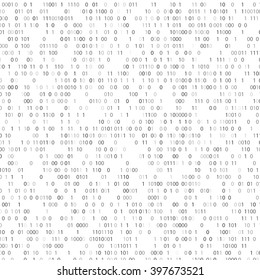 Binary code background. Vector eps10.