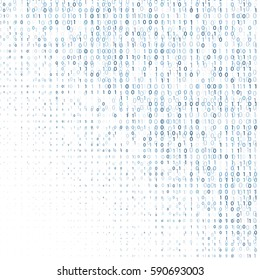 Binary code digital technology background