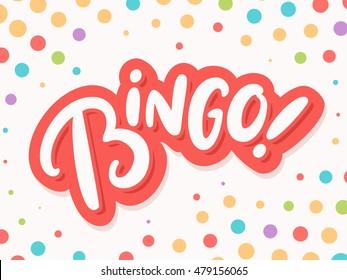 Bingo background.
