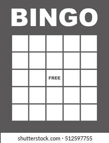 Bingo Card.