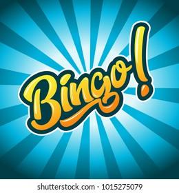 Bingo Game Illustration
