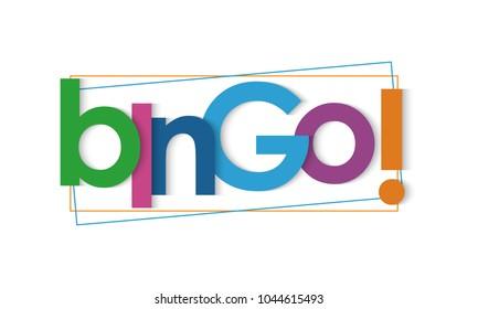 Bingo lettering banner