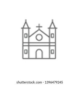 Binnenhof, Holland icon. Element of Holland icon. Thin line icon for website design and development, app development. Premium icon