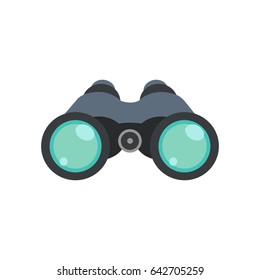 Binoculars explorer find icon