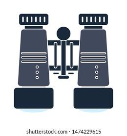 binoculars icon. flat illustration of binoculars vector icon. binoculars sign  symbol