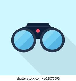 binoculars vector icon