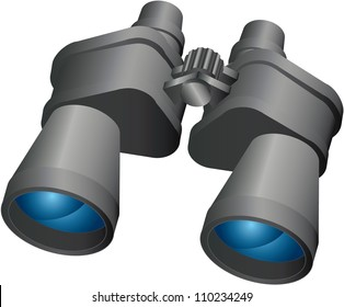 Binoculars,Vector design EPS10