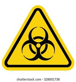 Bio hazard symbol sign