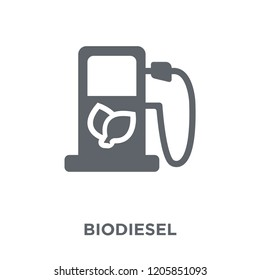 Biodiesel icon. Biodiesel design concept from Ecology collection. Simple element vector illustration on white background.