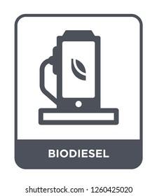 biodiesel icon vector on white background., biodiesel simple element illustration