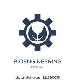 bioengineering icon. Trendy flat vector bioengineering icon on white background from general collection, vector illustration can be use for web and mobile, eps10