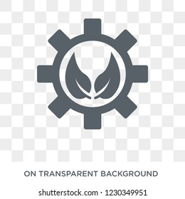 bioengineering icon. Trendy flat vector bioengineering icon on transparent background from general  collection.