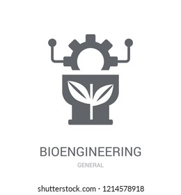 bioengineering icon. Trendy bioengineering logo concept on white background from General collection. Suitable for use on web apps, mobile apps and print media.