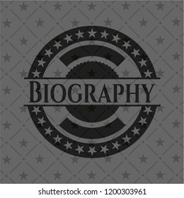 Biography black badge