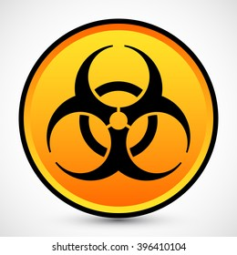 Biohazard Icon Vector JPEG Picture Image Graphic JPG EPS AI Drawing