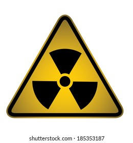 Biohazard Warning Sign- Vector