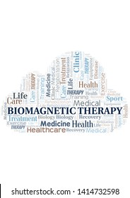 Biomagnetic Therapy word cloud. Wordcloud made with text only.