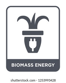 biomass energy icon vector on white background, biomass energy trendy filled icons from General collection, biomass energy simple element illustration