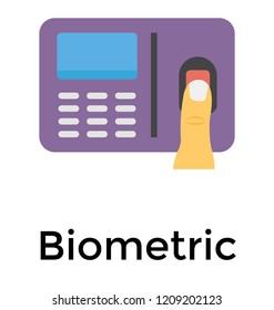 Biometric attendance via fingerprint scanning device