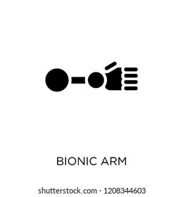 Bionic arm icon. Bionic arm symbol design from Future technology collection.